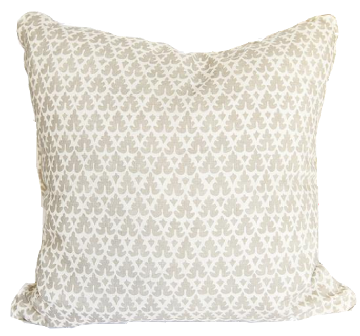 Volpi Grey Pillow