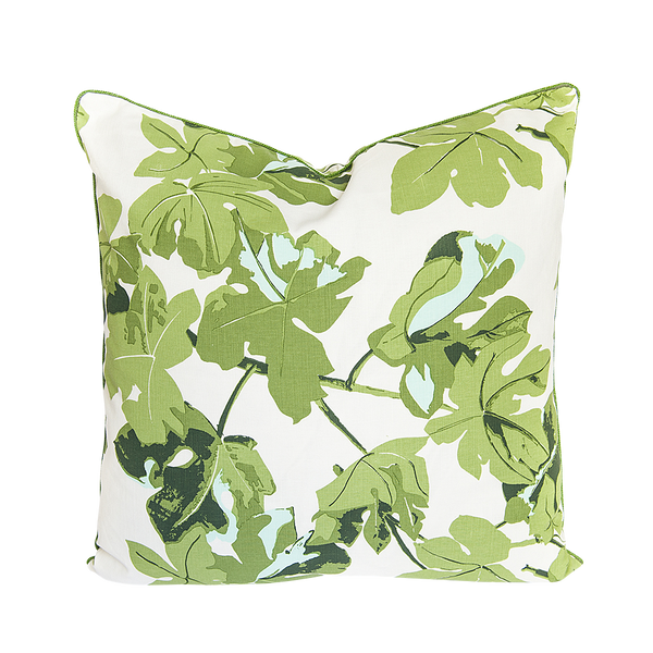 Fig Leaf Green Pillow