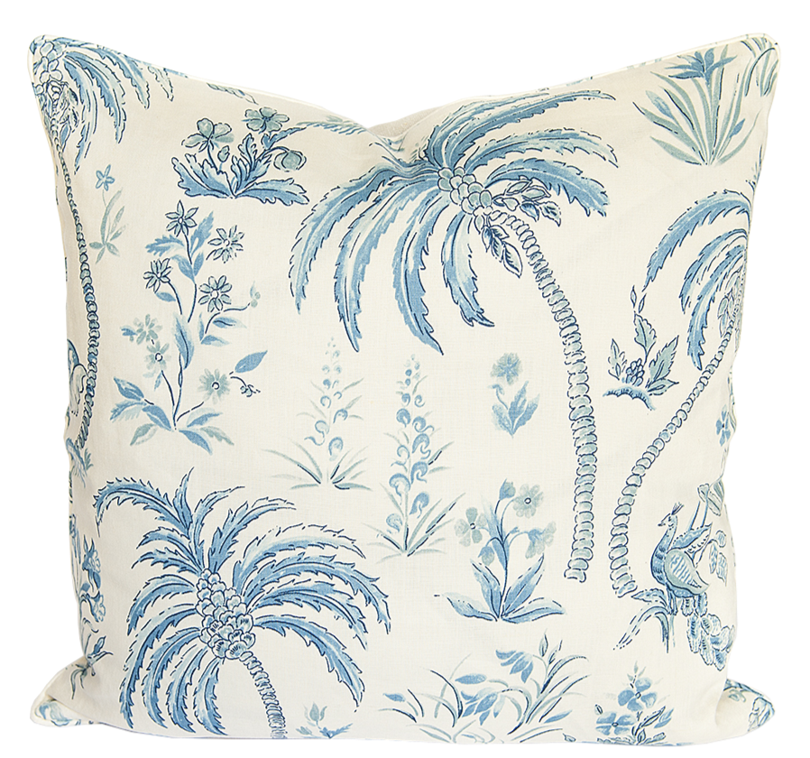 Pasha Ocean Blue Pillow