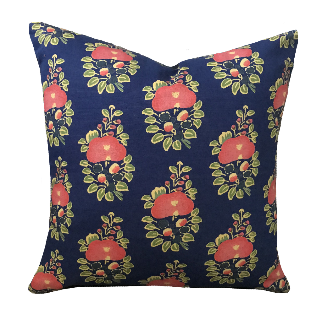 Alma Blue Pillow