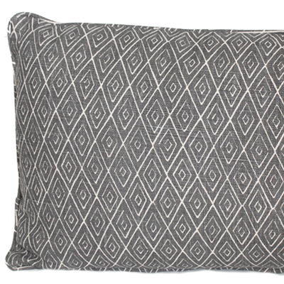 Atlas Charcoal Pillow