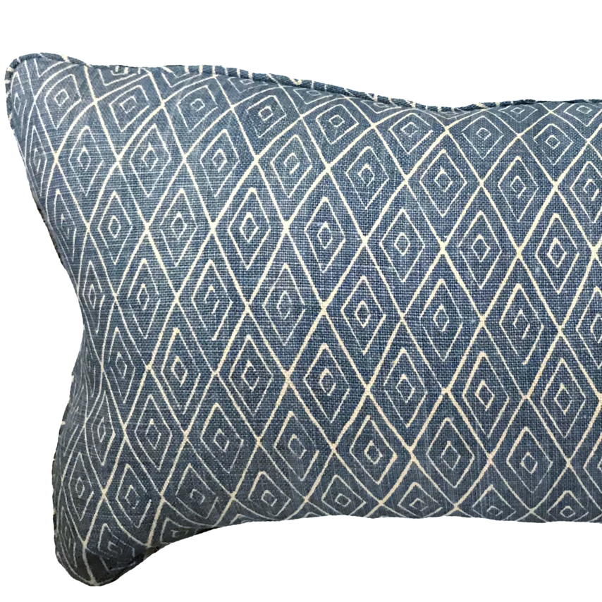 Atlas Indigo Pillow