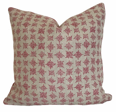 Firefly Rosebud Pillow
