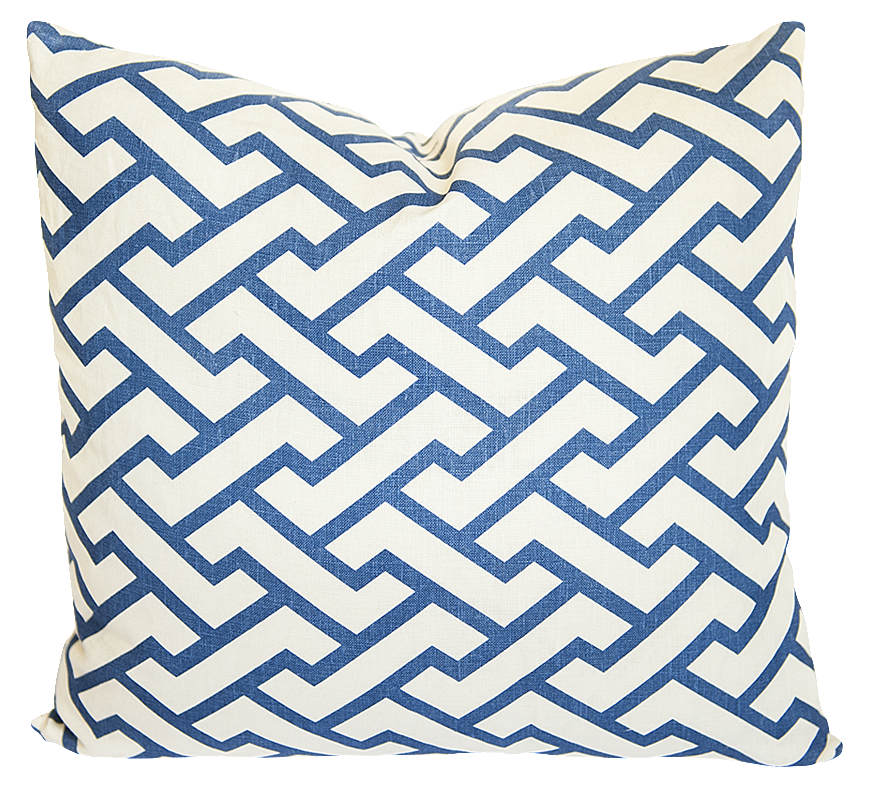 Aga Navy Pillow