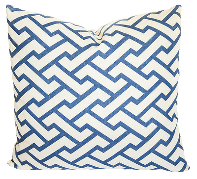 Aga Navy Pillow Cover