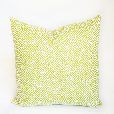 Java Java Green Pillow Cover