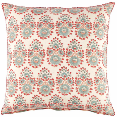 Diwan Lotus Multi Color Pillow