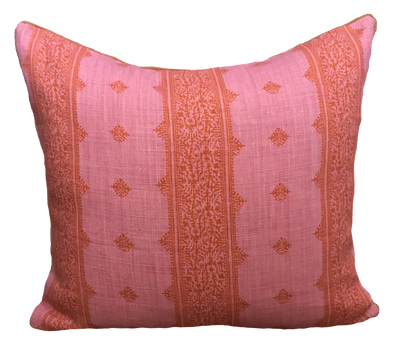 Fez Pink and Orange Pillow