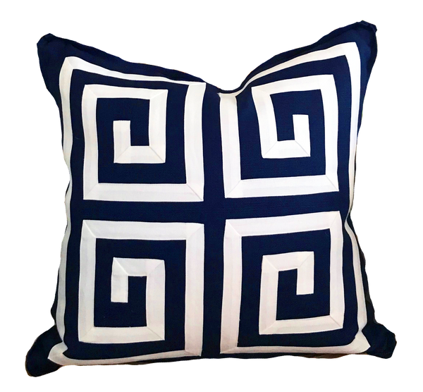 Tribeca Fretwork Pillow