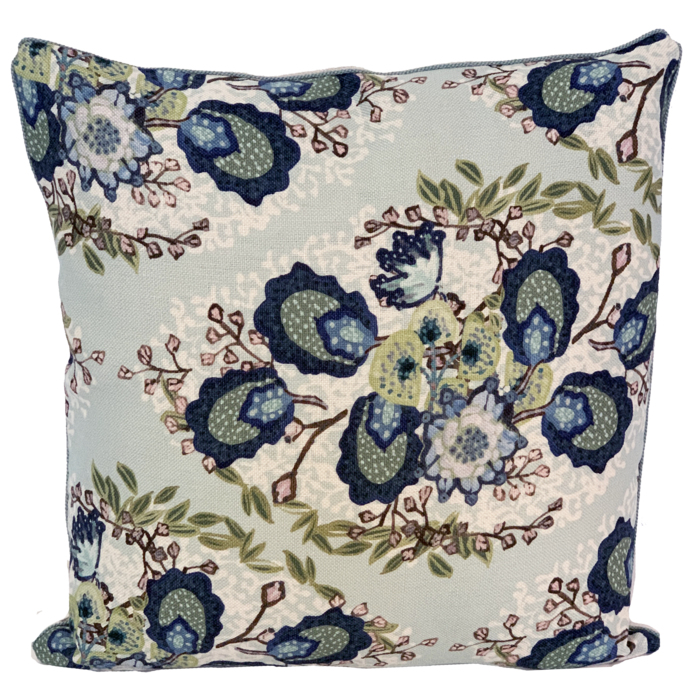 Heather Soft Jade Pillow