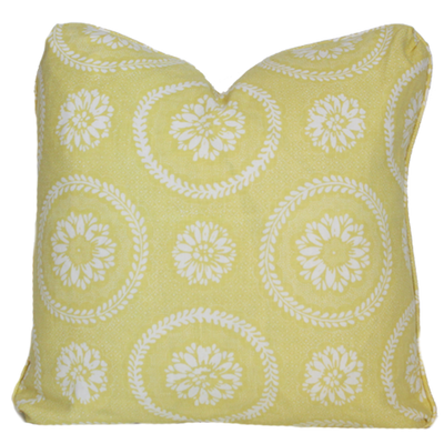Limoges Yellow Pillow