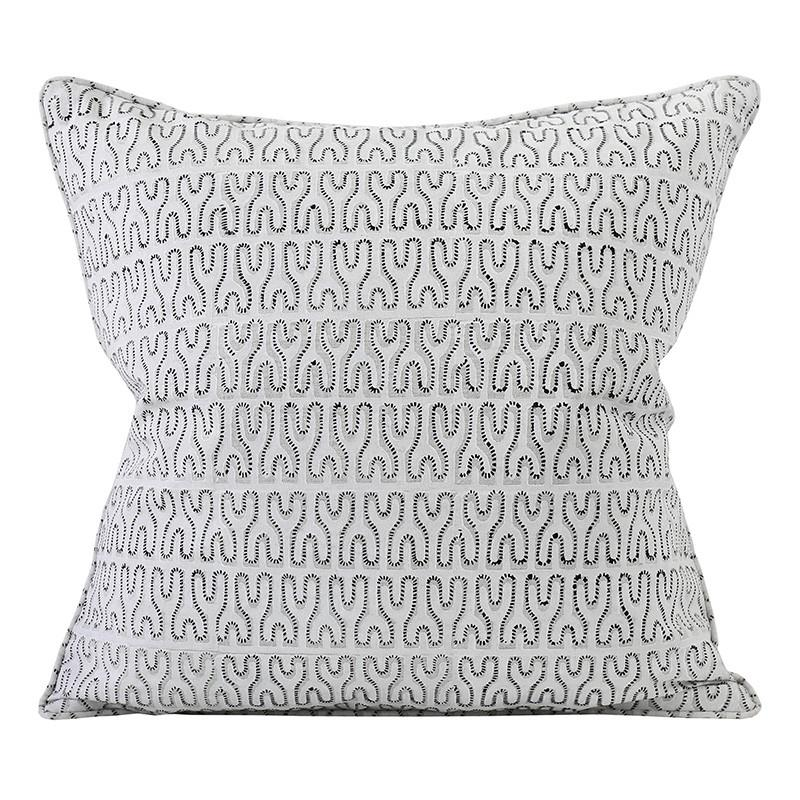 Nagari Chalk Pillow