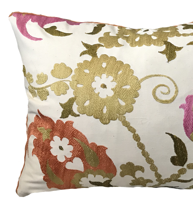 Suzani Multi Pillow