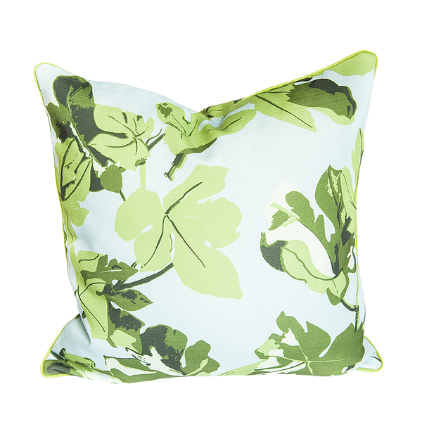 Fig Leaf Outdoor Pillow