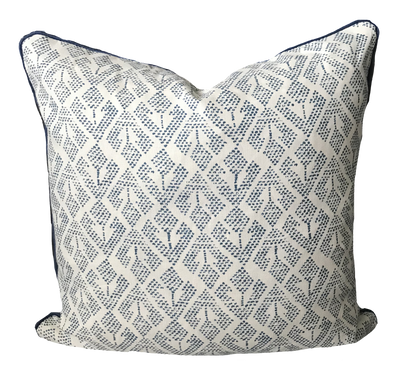 Patmos Indigo Pillow