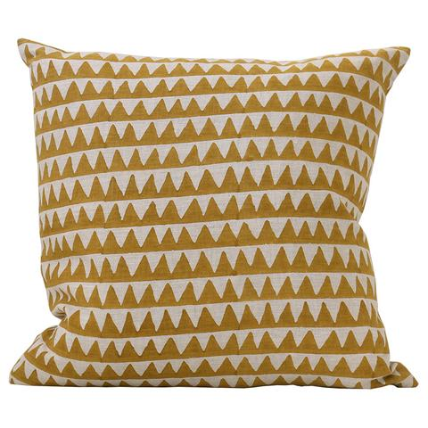 Pyramids Saffron Pillow