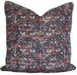 Khotan Rubia Printed Pillow