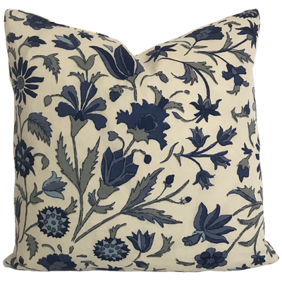 Tatiana Blue Pillow