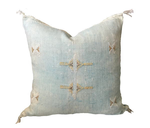 Found Turquoise Mojave Pillow