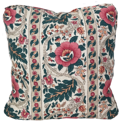 Woodley Poppy Pillow