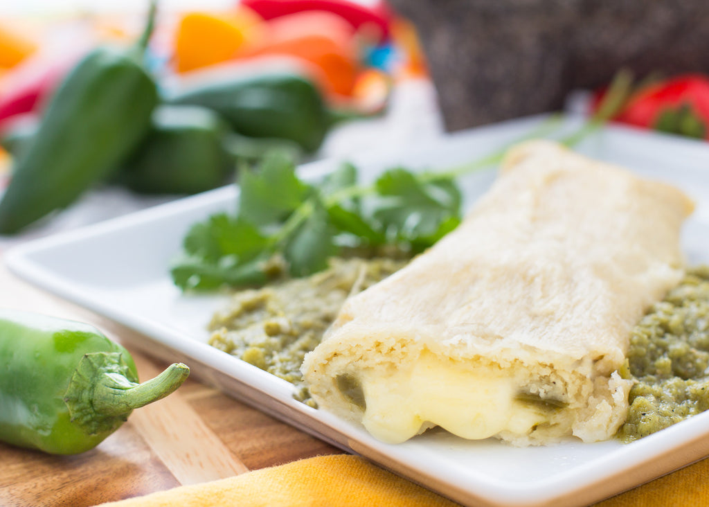 Green Chile & Cheese Tamales