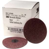 Coarse Roloc Conditioning Discs - 4In - Brown - Pro Tool Shopper