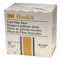 Gold Film Discs Hookit P220 5In 100Box - Pro Tool Shopper
