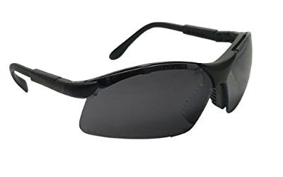 SAS Safety 541-0001 Sidewinder Eyewear with Polybag, Shade Lens/Black Frame - Pro Tool Shopper