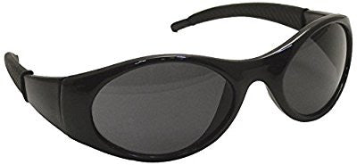 SAS Safety 5182 Stingers Black Frame Shaded Lens High Impact Safety Glasses - Pro Tool Shopper