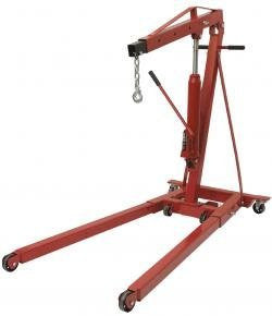 $Low Clearnce Foldable 2Ton Engine Crane - Pro Tool Shopper