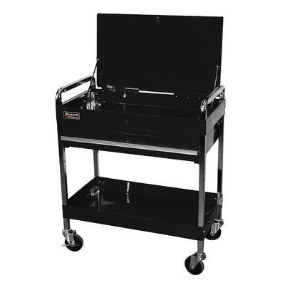 "32"" Professional 1 Drawer Service Cart - Black - Pro Tool Shopper"