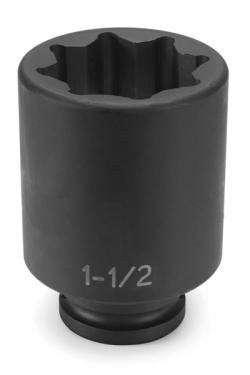 3/4## Drive x 1-1/2## Deep - 8 Point - Pro Tool Shopper