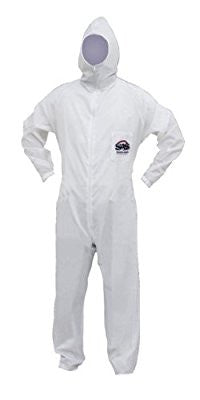 SAS Safety 6937 Moonsuit Nylon Front/Cotton Back Coverall, Medium - Pro Tool Shopper