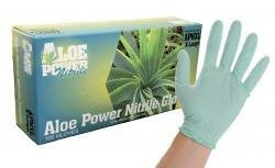 &+$ALOE POWER NITRILE GLOVES LG (100/BX) - Pro Tool Shopper