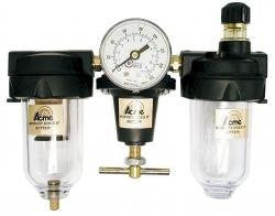 3/8 Inch Filter Regulator W/Gauge - Pro Tool Shopper