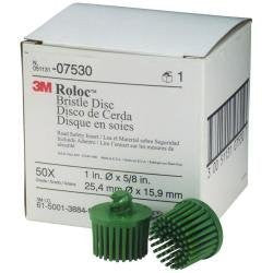 Scotch-Brite Bristle Disc 07530, 1 Inch, 50 Green Grade 10/Box - Pro Tool Shopper