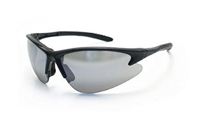 SAS Safety 540-0603 DB2 Eyewear with Polybag, Mirror Lens/Black Frame - Pro Tool Shopper