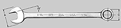 2-1/8 Inch Fractional SAE Combination Wrench - Pro Tool Shopper
