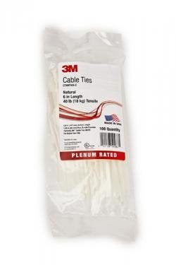 3M 3M(Tm) Cable Tiesnatural (100/Bg) - 3M59286 - Pro Tool Shopper