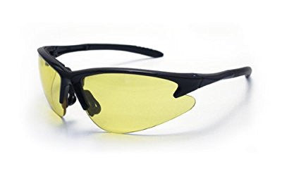 SAS Safety 540-0605 DB2 Eyewear with Polybag, Yellow Lens/Black Frame - Pro Tool Shopper