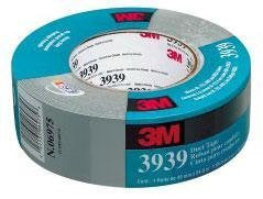 3M 2X60Yds #3939 Silver Duct Tape Roll - 3M6975 - Pro Tool Shopper