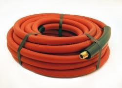 "APACHE HOSE & BELTING CO Red Rubber 3/8""X35' I300Air Hose 325Psi - HC91004785 - Pro Tool Shopper"