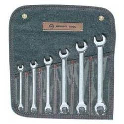 WRIGHT TOOL COMPANY Wr Set Oe 6 Pc. Metric Full Polish Ch - WR740 - Pro Tool Shopper