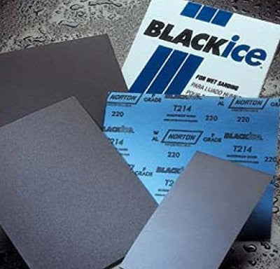 "5-1/2"" X 9"" Black Ice Sheet 1000A Grit 50/Pkg - Pro Tool Shopper"