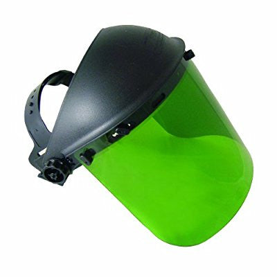 SAS Safety 5142 Standard Faceshield, Dark Green - Pro Tool Shopper