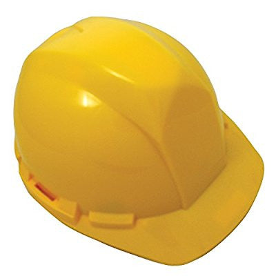 SAS Safety 7160-02 Hard Hat with 4-Point Pinlock, Yellow - Pro Tool Shopper