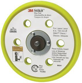 "Disc Pads-Low Profile Dust Free Stikit 6"""" 10/Case - Pro Tool Shopper"