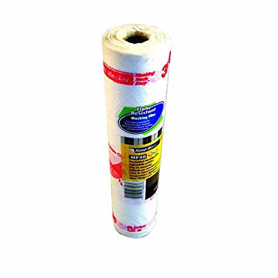 3M 06848 Pre-Folded Masking Film, 48-Inch Width by 180-Feet Length - Pro Tool Shopper