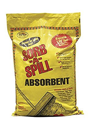 SAS Safety 7702 Sorb-A-Spill Absorbent, 10-Pound bag, 4536-Grams - Pro Tool Shopper