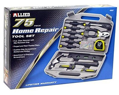 Allied Tools 49027 75-Piece Home Maintenance Tool Set - Pro Tool Shopper